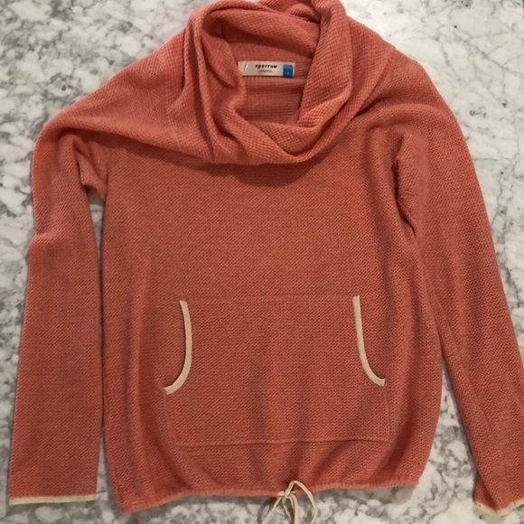 Anthropologie Sweaters - Anthropologie Sparrow S Cowl Neck Knit Sweater
